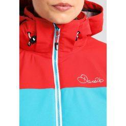 Dare 2B INVOKE II Kurtka snowboardowa turquoise. Niebieskie kurtki damskie narciarskie marki Dare 2b, z materiału. W wyprzedaży za 383,20 zł.