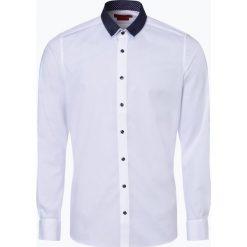 Finshley & Harding - Koszula męska łatwa w prasowaniu, czarny. Czarne koszule męskie na spinki marki TOM TAILOR DENIM, l, z bawełny, button down, z długim rękawem. Za 149,95 zł.