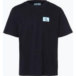 Calvin Klein Jeans - T-shirt męski, niebieski. Czarne t-shirty męskie marki Calvin Klein Jeans, z bawełny. Za 139,95 zł.