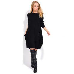 Fille Du Couturier Sukienka Damska Daniela 38 Czarny. Czarne sukienki z falbanami Fille Du Couturier. Za 299,00 zł.