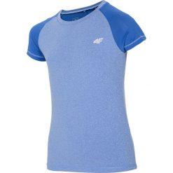 Bluzki dziewczęce: Koszulka sportowa dla dużych dziewcząt JTSD401A – NIEBIESKI