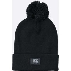 Dickies - Czapka. Czarne czapki zimowe męskie Dickies, z dzianiny. W wyprzedaży za 59,90 zł.