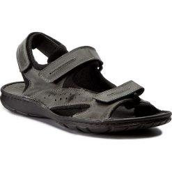 Sandały POLLONUS - 6070 Szary Crazy. Szare sandały męskie skórzane Pollonus. W wyprzedaży za 129,00 zł.