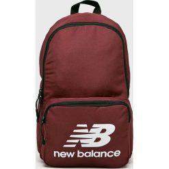New Balance - Plecak. Brązowe plecaki męskie New Balance, z poliesteru. W wyprzedaży za 89,90 zł.