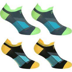 Skarpetki męskie: Skarpetki (3 pary) z kolorowym wzorem do biegania