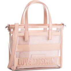 Torebka LOVE MOSCHINO - JC4326PP06KW100A  Pin Grain/Fur Nero. Czerwone torebki klasyczne damskie Love Moschino, z materiału. W wyprzedaży za 479,00 zł.