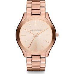 Zegarek MICHAEL KORS - Slim Runway MK3197 Rose Gold/Rose Gold. Czerwone zegarki damskie Michael Kors. Za 950,00 zł.