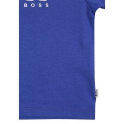 BOSS Kidswear BABY LAYETTE KURZARM Tshirt z nadrukiem blaugrau. Niebieskie t-shirty chłopięce z nadrukiem marki BOSS Kidswear, z bawełny. Za 139,00 zł.