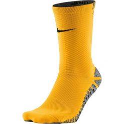 Skarpetogetry piłkarskie: Nike Skarpety piłkarskie Nike Grip Strike Light Crew kolor  pomarańczowy 41-43 (SX5486 857)