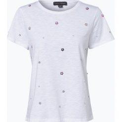 Franco Callegari - T-shirt damski, czarny. Zielone t-shirty damskie marki Franco Callegari, z napisami. Za 59,95 zł.