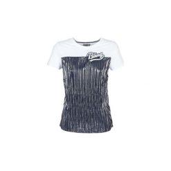 T-shirty z krótkim rękawem Only  LIVA. Białe t-shirty damskie marki ONLY, l. Za 79,20 zł.