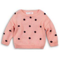 Minoti Dziewczęcy Sweter Z Czarnymi Pomponami 80 - 86 Różowy. Czarne swetry dziewczęce MINOTI. Za 89,00 zł.