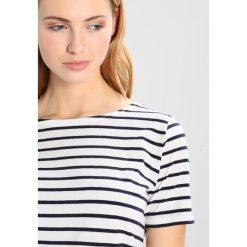 T-shirty damskie: Armor lux Tshirt z nadrukiem milk/navire