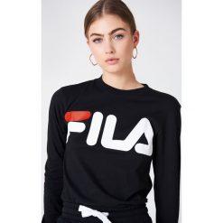 T-shirty męskie: FILA T-shirt z długim rękawem Classic Logo – Black