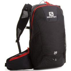 Plecak SALOMON - Trail 20 L37998100  Black/Bright Red. Czarne plecaki męskie Salomon, w paski. W wyprzedaży za 199,00 zł.