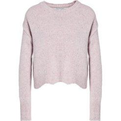 Swetry klasyczne damskie: Rebecca Minkoff CECELIA Sweter ice pink