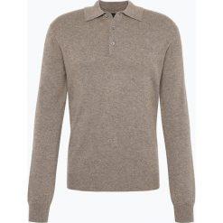Andrew James - Sweter męski z czystego kaszmiru, beżowy. Brązowe swetry klasyczne męskie Andrew James, l, z kaszmiru. Za 599,95 zł.