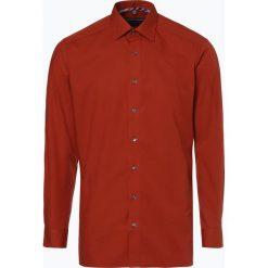 Finshley & Harding - Koszula męska łatwa w prasowaniu, pomarańczowy. Czarne koszule męskie non-iron marki Finshley & Harding, w kratkę. Za 89,95 zł.