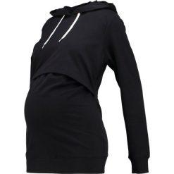 Bluzy rozpinane damskie: Zalando Essentials Maternity Bluza z kapturem black