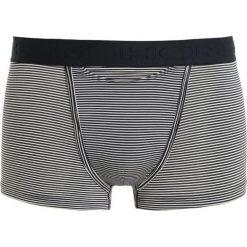 HOM Panty striped navy/skiny. Niebieskie bokserki męskie HOM, z bawełny. W wyprzedaży za 125,10 zł.