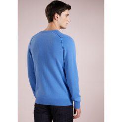 Swetry klasyczne męskie: FTC Cashmere PULLOVER Sweter breezy blue