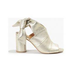 Sandały Gulietta złote. Żółte sandały damskie Badura. Za 151,99 zł.