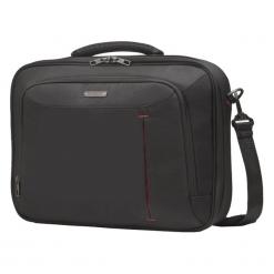 "Samsonite GuardIT Office Case 16"" czarna. Czarne torby na laptopa marki Samsonite, w paski, z materiału. Za 179,00 zł."