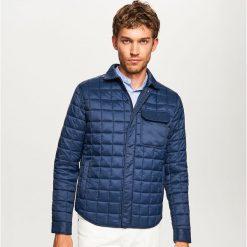 Kurtka pikowana w kratkę - Granatowy. Niebieskie kurtki męskie pikowane Reserved, l, w kratkę. Za 139,99 zł.