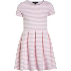Odzież dziecięca: Polo Ralph Lauren STRIPE PONTE DRESSES Sukienka dzianinowa hint of pink/white