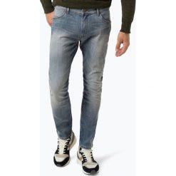 Wrangler - Jeansy męskie – Larston, niebieski. Niebieskie jeansy męskie Wrangler. Za 449,95 zł.