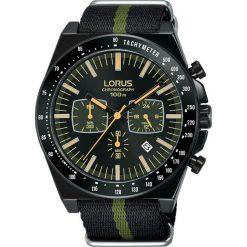 Zegarek Lorus Zegarek Męski Lorus RT353GX9 Chronograf Sportowe. Czarne zegarki męskie Lorus. Za 431,99 zł.