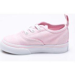 Vans - Tenisówki dziecięce. Szare buty sportowe dziewczęce marki Vans, z gumy, na sznurówki. W wyprzedaży za 139,90 zł.