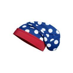 Playshoes  Czapka UV Beanie Punkty - niebieski - Gr.Moda (2 - 6 lat). Niebieskie czapeczki niemowlęce marki Playshoes, z elastanu. Za 29,00 zł.