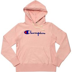 Bluza Champion Hooded Sweatshirt (110975-PS096). Czarne bluzy damskie marki Alpha Industries, z materiału. Za 300,99 zł.