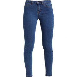 Boyfriendy damskie: Noisy May Petite NMLUCY Jeans Skinny Fit medium blue denim