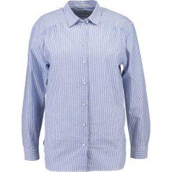 Koszule wiązane damskie: Seidensticker 1/1 LANG Koszula blau/weiß