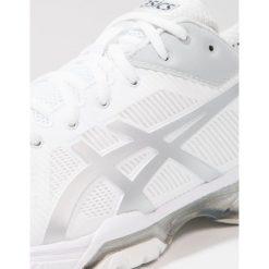 ASICS GELSOLUTION SPEED 3 Obuwie do tenisa Outdoor white/silver. Czarne buty do tenisa męskie marki Asics. W wyprzedaży za 495,20 zł.
