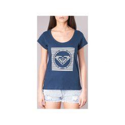 T-shirty z krótkim rękawem Roxy  BOBBY ATEE. Niebieskie t-shirty damskie marki Roxy, xs. Za 71,20 zł.