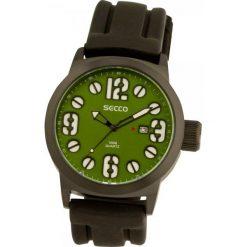 Secco Zegarek S a6341,5 – 407, Czarny. Czarne zegarki męskie Secco. W wyprzedaży za 89,00 zł.