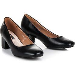 Czółenka na niskim obcasie vices Vices czarne. Czarne buty ślubne damskie marki vices, na niskim obcasie. Za 89,90 zł.