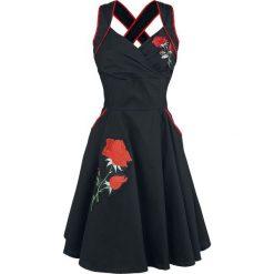 Rockabella Marianne Dress Sukienka czarny. Szare sukienki balowe marki Sinsay, l, z dekoltem na plecach. Za 199,90 zł.