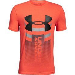 Koszulki męskie: Under Armour Koszulka dziecięca Veritcal Logo T-shirt Orange r. S (1310271847)
