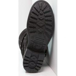 Felmini JAYDINE Kowbojki i obuwie motocyklowe black. Czarne buty zimowe damskie marki Felmini, z materiału. Za 799,00 zł.