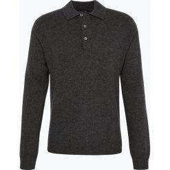 Andrew James - Sweter męski z czystego kaszmiru, szary. Szare swetry klasyczne męskie Andrew James, l, z kaszmiru. Za 599,95 zł.