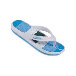 Chodaki damskie: Spokey Medusa – klapki basenowe damskie r.39 (niebiesko-biały)