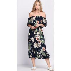 Sukienki: Granatowa Sukienka Zaffre