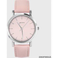 Zegarek - Simple Elegance - pudrowy róż. Czerwone zegarki damskie Pakamera. Za 139,00 zł.
