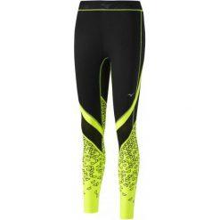 Bryczesy damskie: Mizuno Damskie Spodnie Impprinted Longtight/Black Safety Yel S
