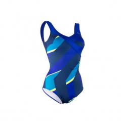 Strój jednoczęściowy do aquafitness KARLI FIC damski. Czarne stroje jednoczęściowe marki NABAIJI, moda ciążowa. W wyprzedaży za 79,99 zł.