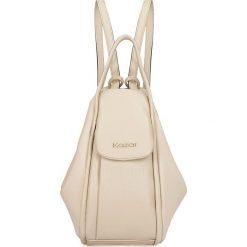 Plecaki damskie: Beżowy plecak damski